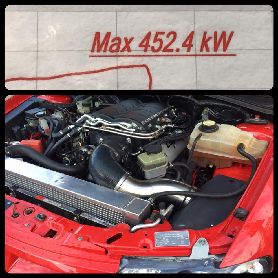 VX GTO with LSX 376 - 452 4 R W K W on 11PSI - C&A Auto Fashion